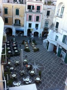 Piazza- Atrani, Italy